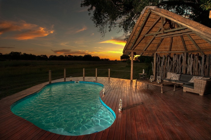 Lediba is Setswana for a remnant lagoon waterhole - which the camp overlooks, providing exceptional views