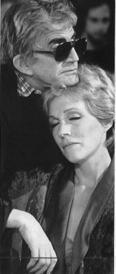 Blake Edwards and Julie Andrews - Beautiful picture <3