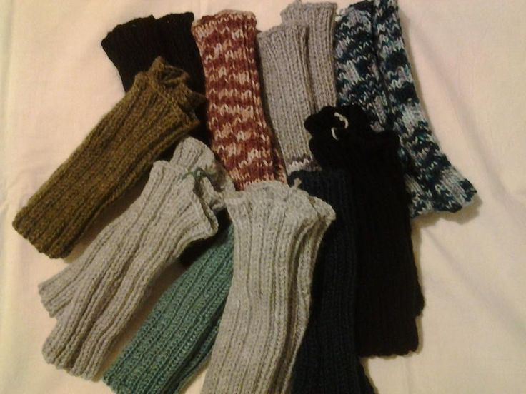 As we learn every winter, you can never have too many fingerless gloves for the homeless or those that need warmth!