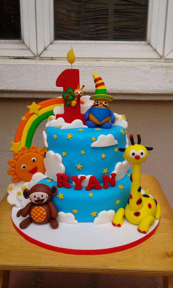 1000 Images About Baby Tv Cakes On Pinterest Cake