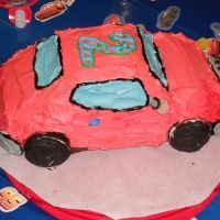 Chocolate Car Cake Recipe