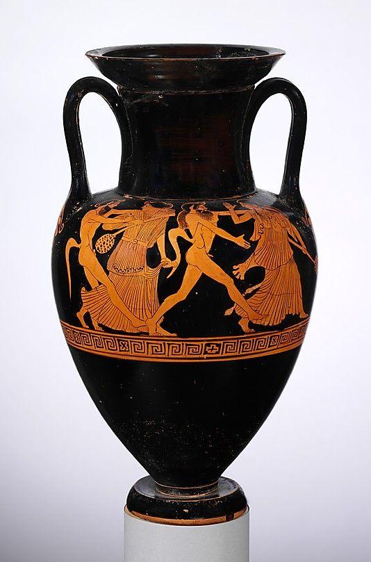 paintings vase Greek erotic