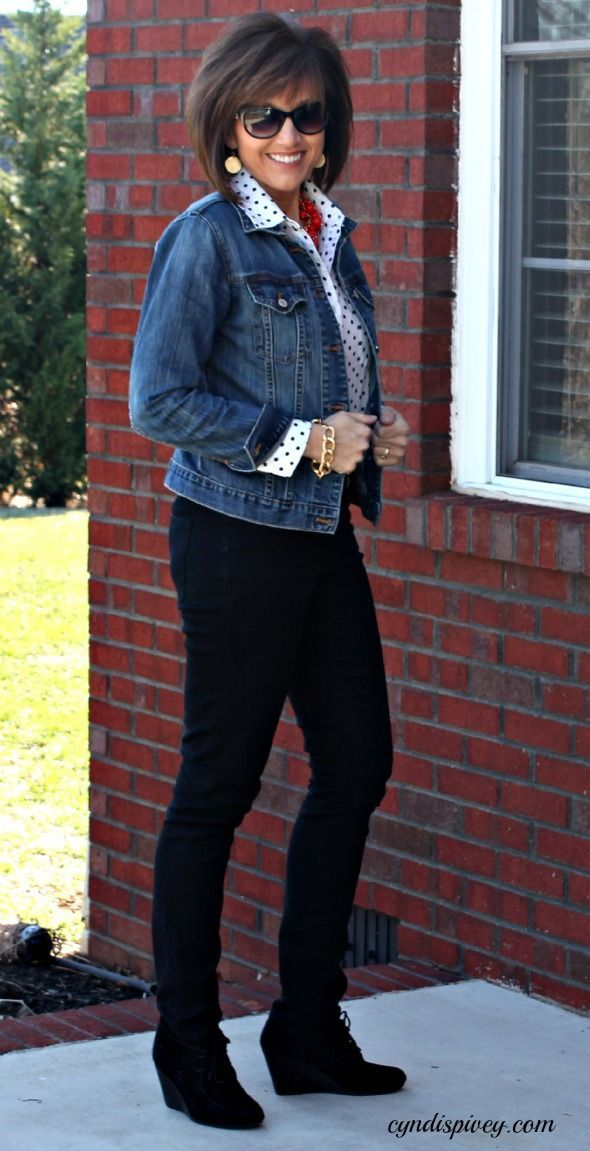Liverpool Jeans & A Giveaway - Walking in Grace and Beauty | Street Fashion