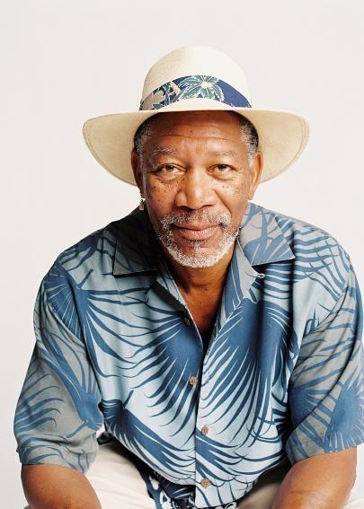 Morgan Freeman - always old and always cool.