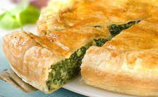 The secret of the goodness of this cake is in the slow rising and filling  simple and healthy; #vegetables and #cheese for mouth-watering!  #Cake with herbs