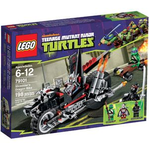 LEGO Ninja Turtles Shredder's Dragon Bike Play Set