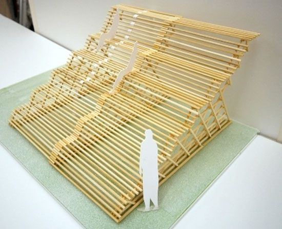 atelier bow wow: bamboo grandstand.
