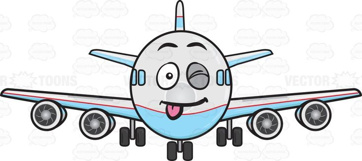 Winking Jumbo Jet Plane Sticking Out A Tongue Emoji #aeroplane #aircarrier #airbus #aircraft #aircraftengine #airplane #Boeing #carrier #engine #enginepropeller #face #happiness #happy #horizontalstabilizer #jet #jetengine #jumbojet #landinggear #motor #passengerplane #plane #planeengine #propellers #stabilizer #stickingouttongue #stuckouttongue #tail #verticalstabilizer #wheels #wink #winking #vector #clipart #stock