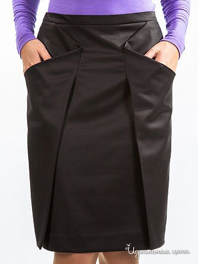 Very unique skirt - Russian site gives illustrations on how to create the pattern pieces for this skirt using a standard skirt pattern.