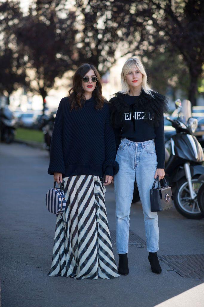 Milan Fashion Week 2018: Best Street Style Looks for Spring Summer '18