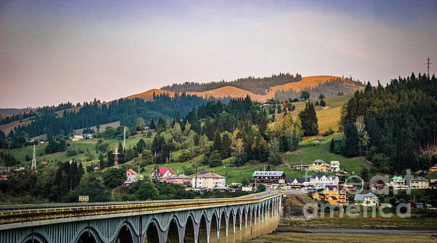 The bridge between the hills by Claudia M Photography