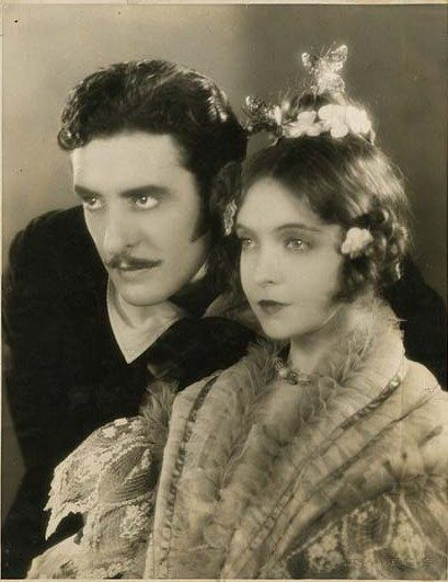 John Gilbert and Lillian Gish in La Boheme, directed by King Vidor, 1926