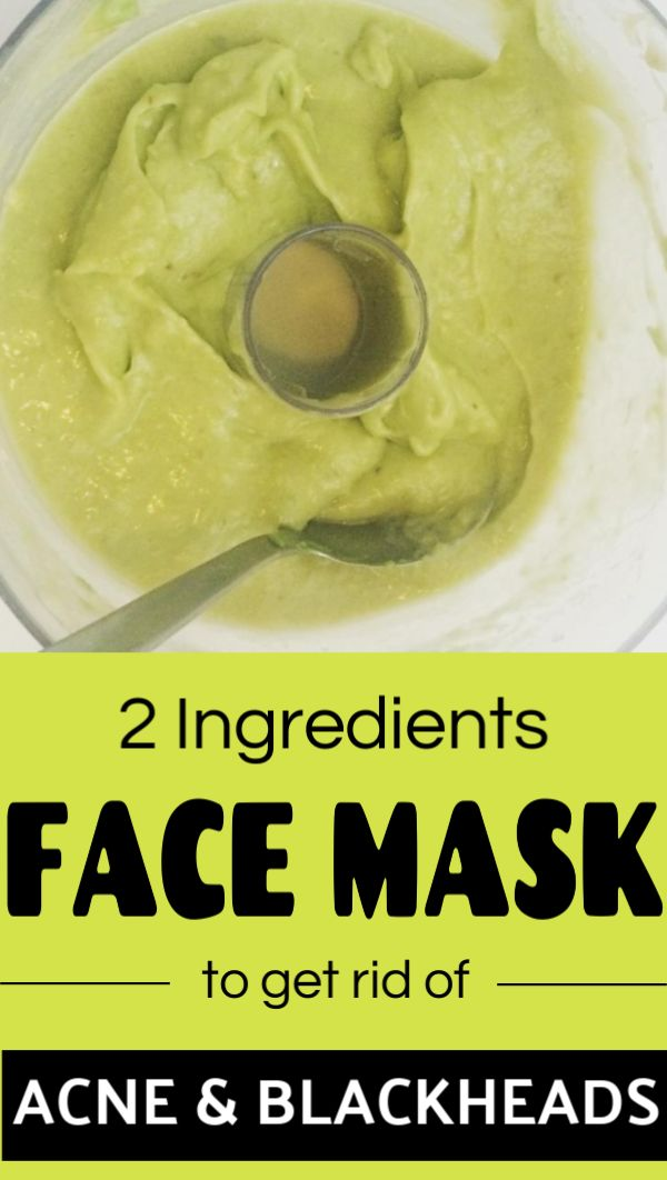 You need just these 2 ingredients to get rid of acne and blackheads from your face