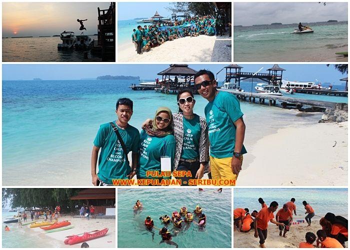 Pulau Sepa Resort   Wisata Kepulauan Seribu