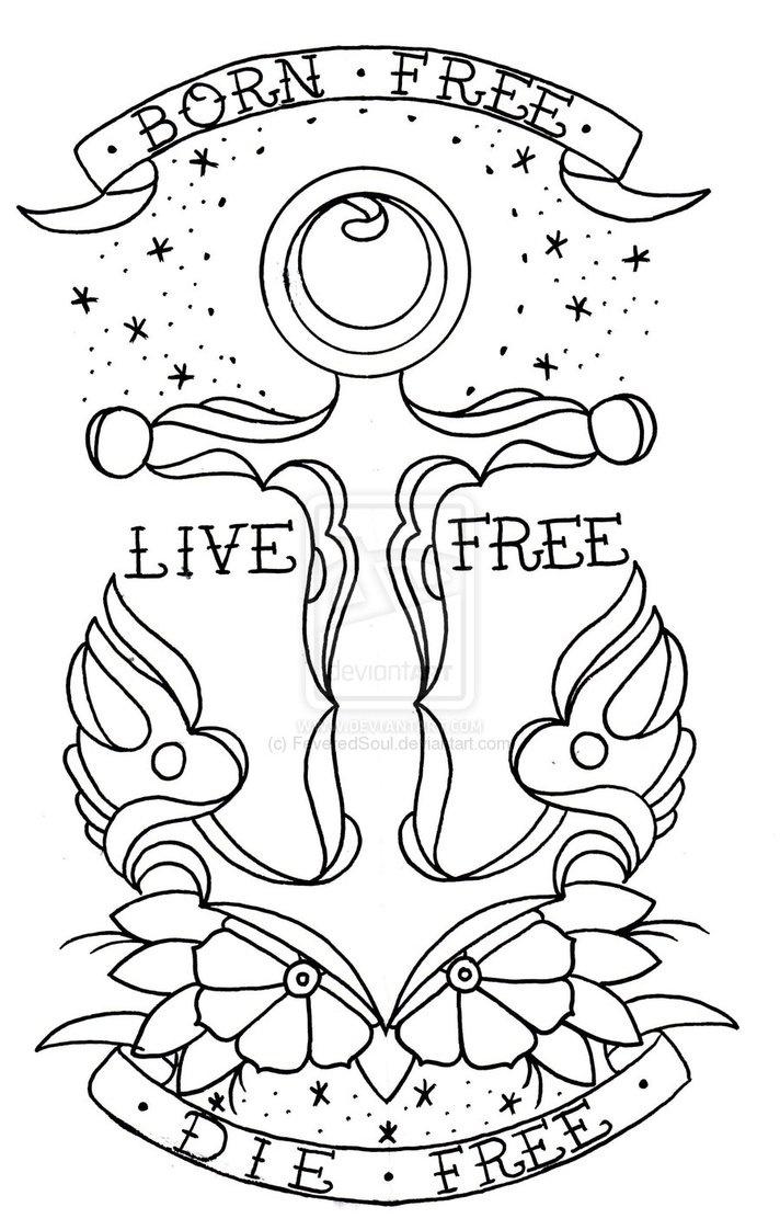 best 25 live free tattoo ideas on pinterest tattoo free pretty tattoos and free tattoo designs. Black Bedroom Furniture Sets. Home Design Ideas