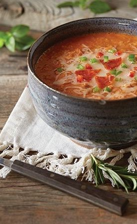Vitamix Pizza Soup | Vitamix Recipes