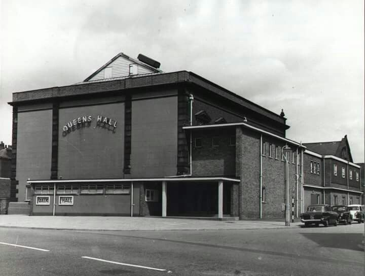 THE QUEENS HALL - The Beatles played here once in their early days, sadly I was not in the audience.