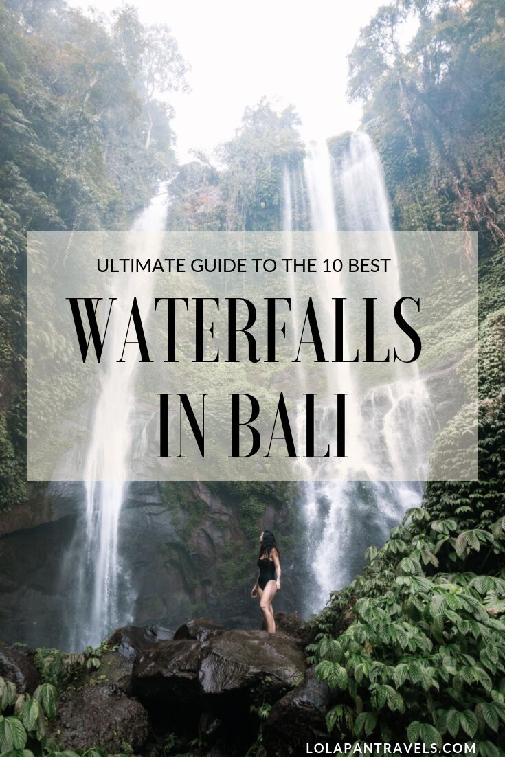 Bali Waterfalls – A Complete Guide To The 10 Best Waterfalls In Bali