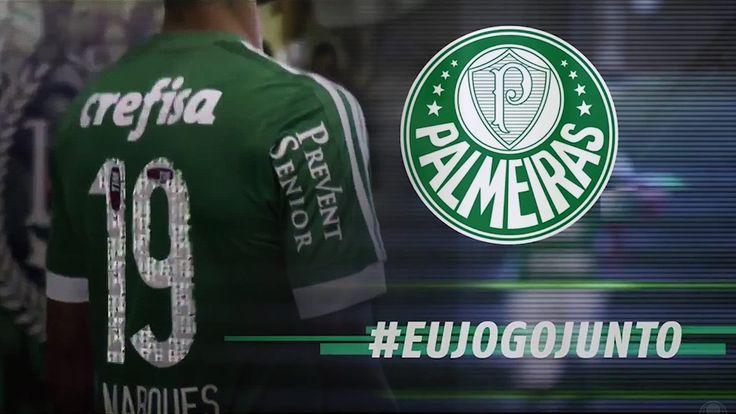 #Eujogojunto Venha jogar junto com o Palmeiras