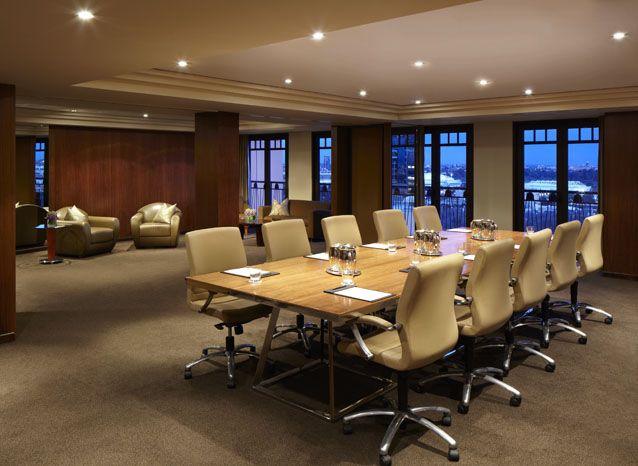 Boardroom Setting in the Treasury Room- Park Hyatt Melbourne