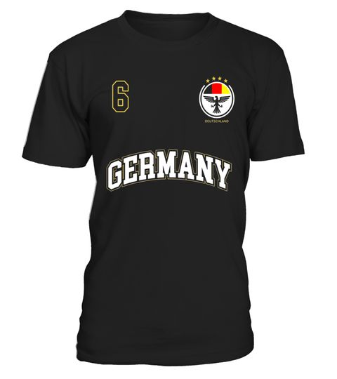 "# Germany Soccer Uniform Shirt No. 6 Sports Team German Flag .  Special Offer, not available in shops      Comes in a variety of styles and colours      Buy yours now before it is too late!      Secured payment via Visa / Mastercard / Amex / PayPal      How to place an order            Choose the model from the drop-down menu      Click on ""Buy it now""      Choose the size and the quantity      Add your delivery address and bank details      And that's it!      Tags: Germany Soccer Uniform…"