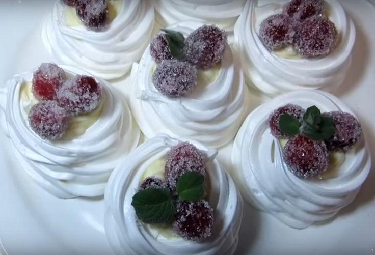 """Пирожное """"Зимняя сказка""""- самый новогодний десерт"""
