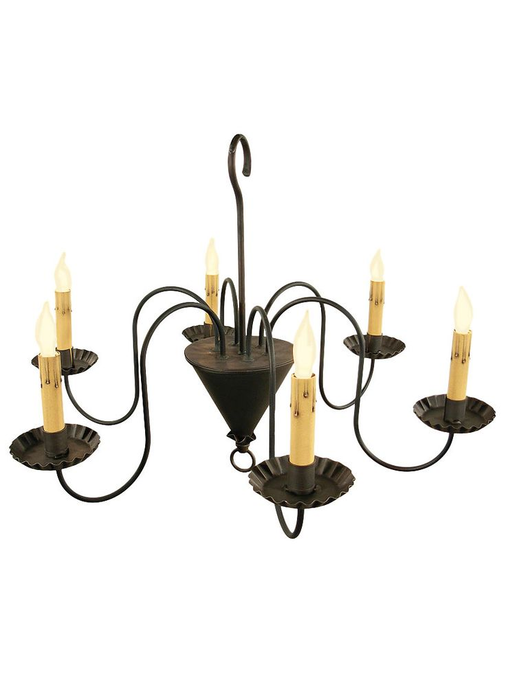 Colonial Chandeliers. Williamsburg 6 Light Wrought Iron Chandelier With  Antique Black Finish - 41 Best Colonial Lighting Images On Pinterest Primitive Lighting