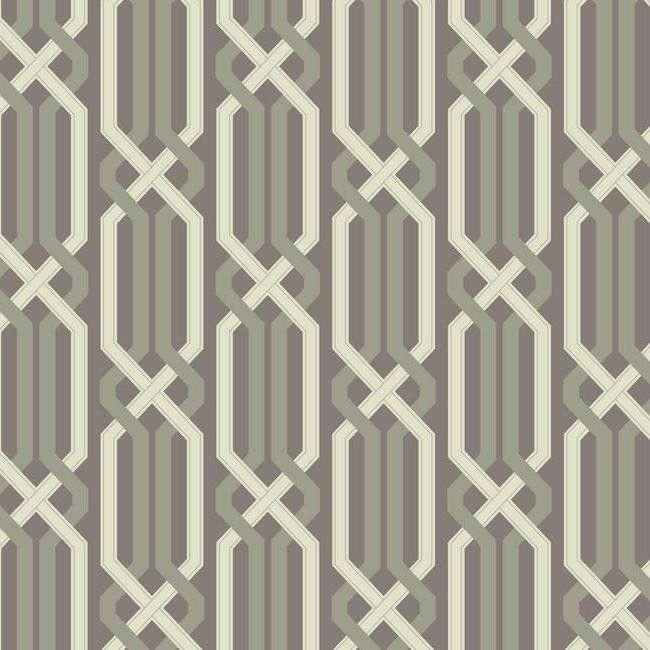 Sample Criss Cross Wallpaper In Silver Design By Carey