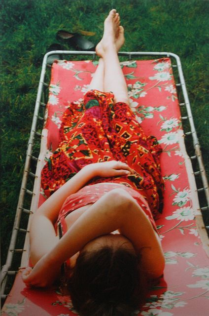 William Eggleston simple. the elements in this photo are leading lines, saturation, and pattern