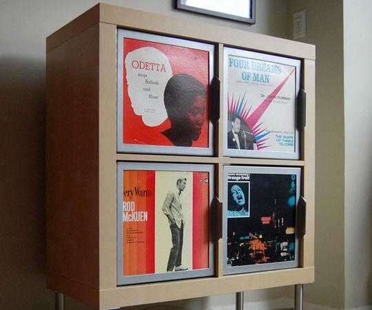 177 best images about lp storage on pinterest vinyls for Ikea lp storage