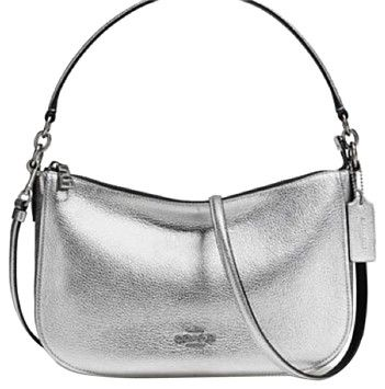 Coach Chelsea Silver Cross Body Bag on Sale, 30% Off   Cross Body Bags on Sale at Tradesy