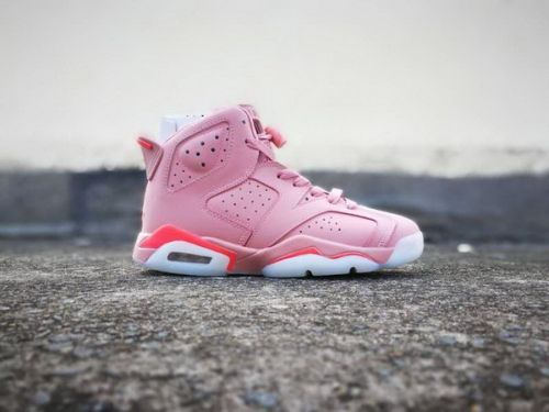 69df3f66e1e3fb Official Aleali May s Air Jordan 6  Millennial Pink  - Mysecretshoes ...