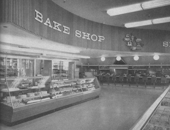 1960s supermarket: Safeway, Millbrae, California, 1963
