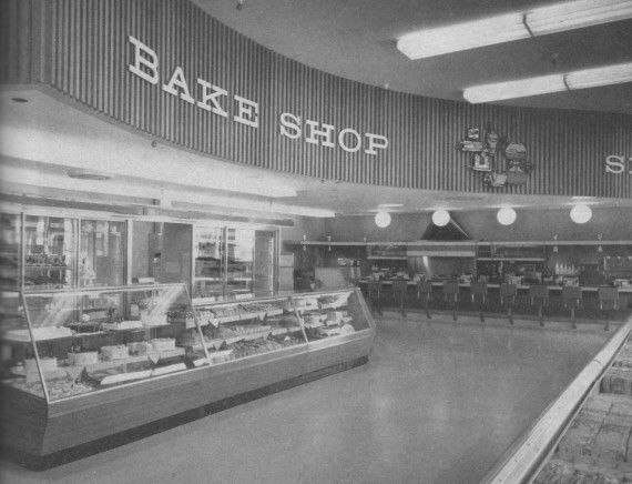 1960s Supermarket Safeway Millbrae California 1963