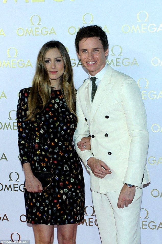 Camera-ready: Eddie Redmayne's glamorous wife Hannah Bagshawe certainly looked sensational as she showed off her post-baby body alongside the actor at the Olympics party hosted by Omega in Rio de Janeiro on Saturday
