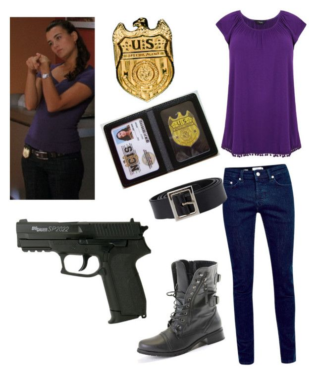 """NCIS/Ziva David"" by lps1880 ❤ liked on Polyvore featuring Dolce&Gabbana and CO"