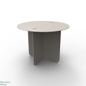 VERSO round coffee table (grey or black). Designed by Entreautre. Available at Darwin's Home on http://www.darwinshome.com/en/coffee-tables/862-verso-round-coffee-table-grey-or-black.html