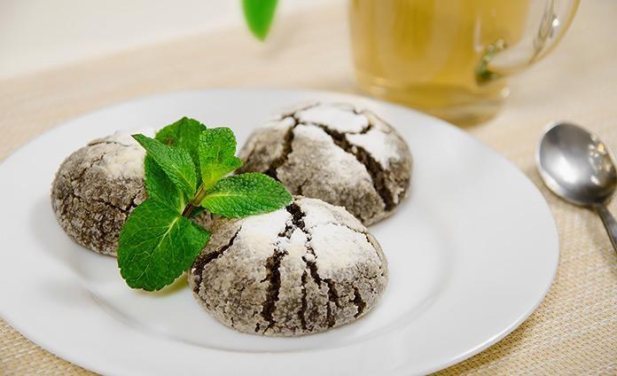 Шоколадно-мятные пряники - пошаговый рецепт с фото
