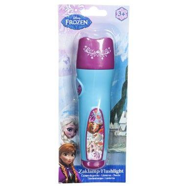 Disney Frozen LED zaklamp  Jij zult in het donker altijd de weg vinden met deze mooie Disney Frozen LED zaklamp.  EUR 1.99  Meer informatie