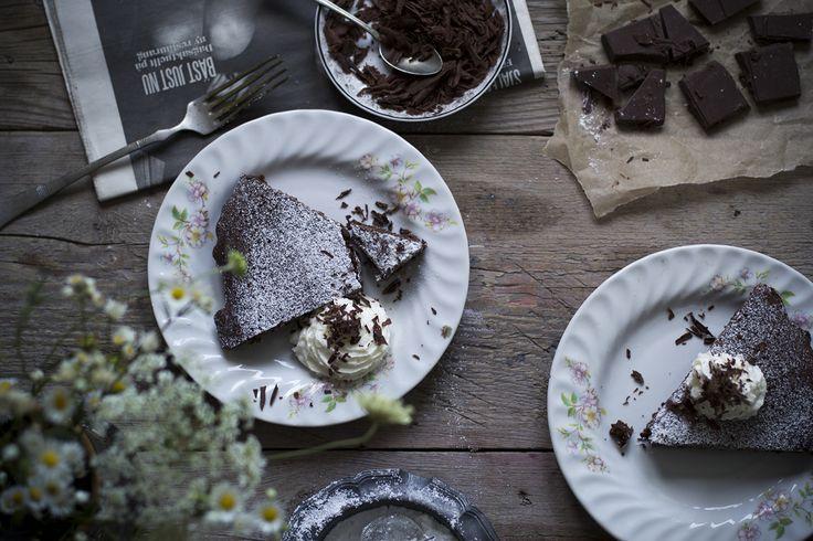 Kladdkaka, the Swedish brownie