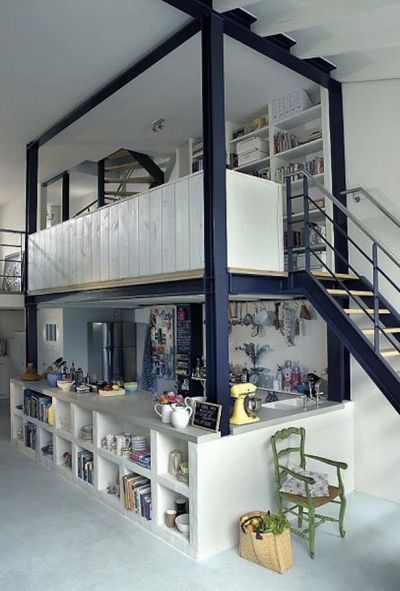 Montage: 34 Lofts and Houses with Mezzanines - StyleCarrot