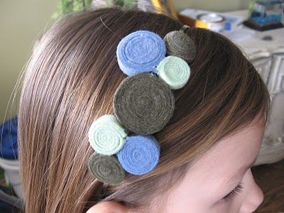 Cerchietto per capelli handmade