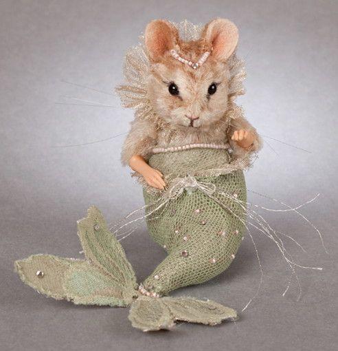 R John Wright The Little Mermaid Mouse