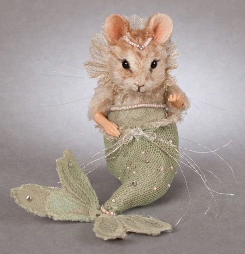 R John Wright The Little Mermaid Mouse