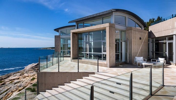 Casa con vistas al mar en Nueva Escocia