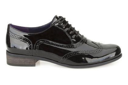 Clarks Hamble Oak - Black Patent - Womens Casual Shoes | Clarks