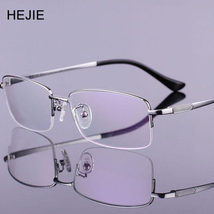 Fashion Men Pure Titanium Eyeglasses Frames High Quality Brand Myopia Glasses Frame For Male Size 54-18-140 Y1006