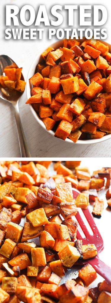 Roasted Sweet Potatoes | Super easy and delicious way to enjoy sweet potatoes!