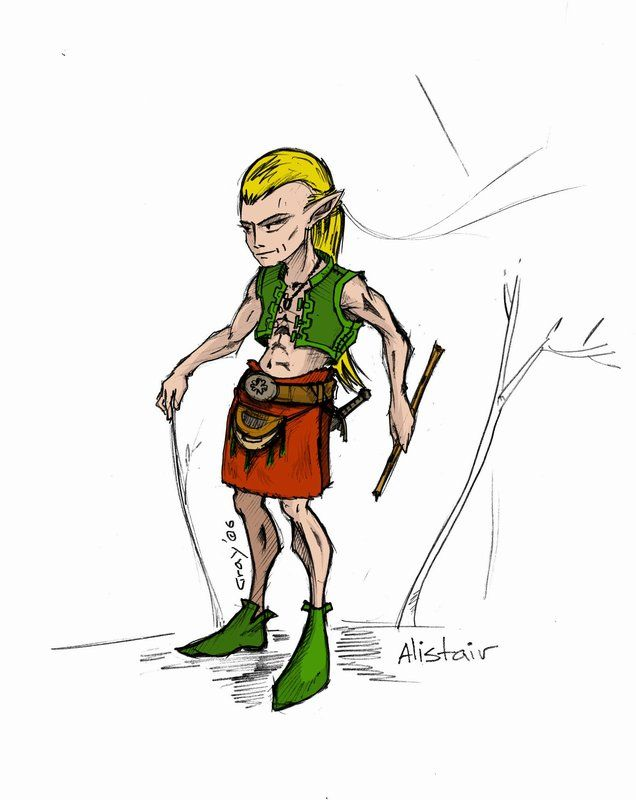 Scottish elf by graywindru on DeviantArt