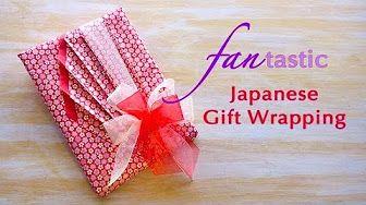 Japanese Pleats Gift Wrapping ~Basic Pleating Design~ - YouTube